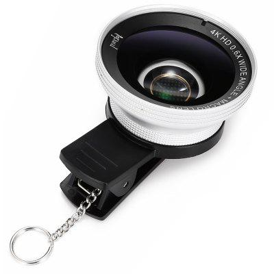 Topaul MSPG007 4K HD 0.6X Wide Angle Macro Phone LensPhone Lenses<br>Topaul MSPG007 4K HD 0.6X Wide Angle Macro Phone Lens<br><br>Brand: topaul<br>Lens type: Macro Lens,Wide-Angle-Lens<br>Magnification ?Wide Angle Lens ): 0.6X<br>Material: Metal, Optical glass<br>Package Contents: 1 x Wide Angle Macro Lens, 1 x Clip, 1 x Cloth, 1 x Storage Bag, 1 x Hook<br>Package size (L x W x H): 10.50 x 6.70 x 10.80 cm / 4.13 x 2.64 x 4.25 inches<br>Package weight: 0.1780 kg<br>Product size (L x W x H): 5.50 x 5.50 x 2.50 cm / 2.17 x 2.17 x 0.98 inches<br>Product weight: 0.0680 kg