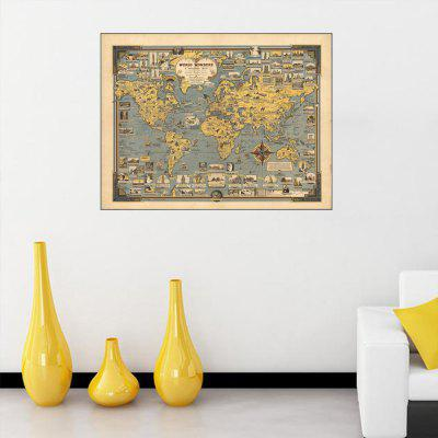 Hand-drawn Ancient Architectural Wall Sticker