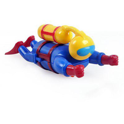Children Bath Time Wind Up Water Diver Toys