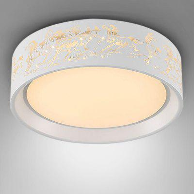 Modern Simple Round LED Acrylic Ceiling Light 220V