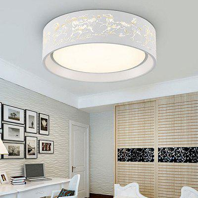 Modern Simple Round LED Acrylic Ceiling Light 220VFlush Ceiling Lights<br>Modern Simple Round LED Acrylic Ceiling Light 220V<br><br>Beam Angle: 360degree<br>Illumination Field: 12 - 20sqm<br>Luminous Flux: 2600LM<br>Optional Light Color: Natural White,Warm White,White<br>Package Contents: 1 x Light, 1 x Remote Control<br>Package size (L x W x H): 52.00 x 52.00 x 22.00 cm / 20.47 x 20.47 x 8.66 inches<br>Package weight: 4.0300 kg<br>Product size (L x W x H): 42.00 x 42.00 x 12.00 cm / 16.54 x 16.54 x 4.72 inches<br>Product weight: 3.5000 kg<br>Sheathing Material: Acrylic, Iron<br>Type: Ceiling Lights<br>Voltage (V): 220V<br>Wattage (W): 30<br>Wavelength / CCT: 3000K,4000K,6500K