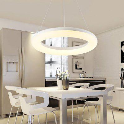 Brelong Simple Round LED Chandelier 100 - 240V