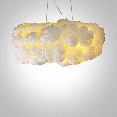 Nordic White Clouds Shape Creative Pendant Light 220V