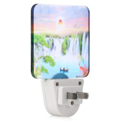 LY GY - A024 Landscape Painting Frosted LED Wall Night LightNight Lights<br>LY GY - A024 Landscape Painting Frosted LED Wall Night Light<br><br>Brand: LY<br>Input Voltage: AC220<br>Luminance: 30Lm<br>Material: Acrylic, Plastic<br>Optional Light Color: RGB<br>Package Contents: 1 x LED Wall Light<br>Package size (L x W x H): 12.50 x 8.50 x 5.50 cm / 4.92 x 3.35 x 2.17 inches<br>Package weight: 0.1000 kg<br>Plug: CN Plug<br>Power Supply: AC Power<br>Product size (L x W x H): 11.50 x 7.50 x 4.30 cm / 4.53 x 2.95 x 1.69 inches<br>Product weight: 0.0540 kg<br>Type: Wall Plug, Night Light
