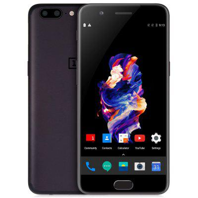 OnePlus 5 4G Phablet Global Version - 8GB RAM 128GB ROM GRAY