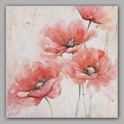 Happy Art Hand Painted Flower Oil Painting Decorative Wall Art