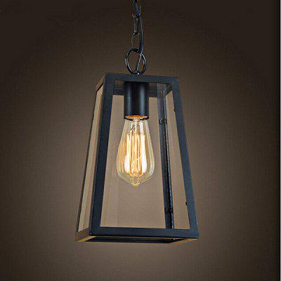 Personality Industrial Style Retro Iron Chandelier 220VPendant Light<br>Personality Industrial Style Retro Iron Chandelier 220V<br><br>Battery Included: No<br>Bulb Base: E27<br>Bulb Included: No<br>Chain / Cord Length ( CM ): 100<br>Features: Designers<br>Fixture Height ( CM ): 26<br>Fixture Length ( CM ): 17<br>Fixture Width ( CM ): 14<br>Light Direction: Ambient Light<br>Number of Bulb: 1 Bulb<br>Number of Bulb Sockets: 1<br>Package Contents: 1 x Light, 1 x Assembly Parts<br>Package size (L x W x H): 27.00 x 24.00 x 36.00 cm / 10.63 x 9.45 x 14.17 inches<br>Package weight: 4.0300 kg<br>Product weight: 3.0000 kg<br>Shade Material: Glass, Iron<br>Style: Modern/Contemporary<br>Suggested Room Size: 5 - 10?<br>Suggested Space Fit: Indoors<br>Type: Chandeliers<br>Voltage ( V ): AC220