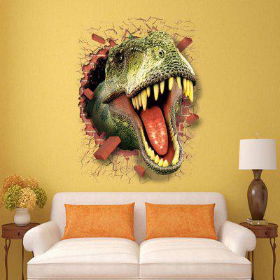 DSU LC7003 Dinosaur 3D Wall Sticker