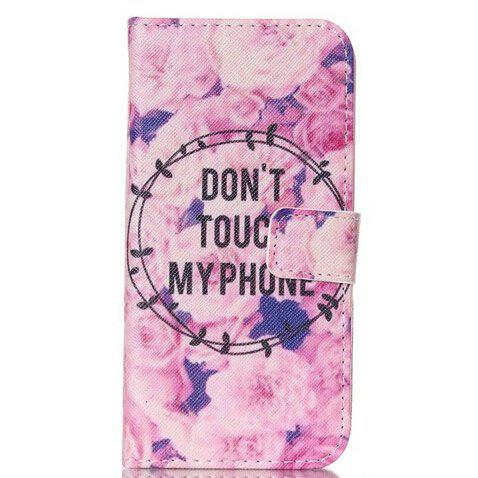Rose Pattern Flip-open Protective Cover for Samsung Galaxy S7