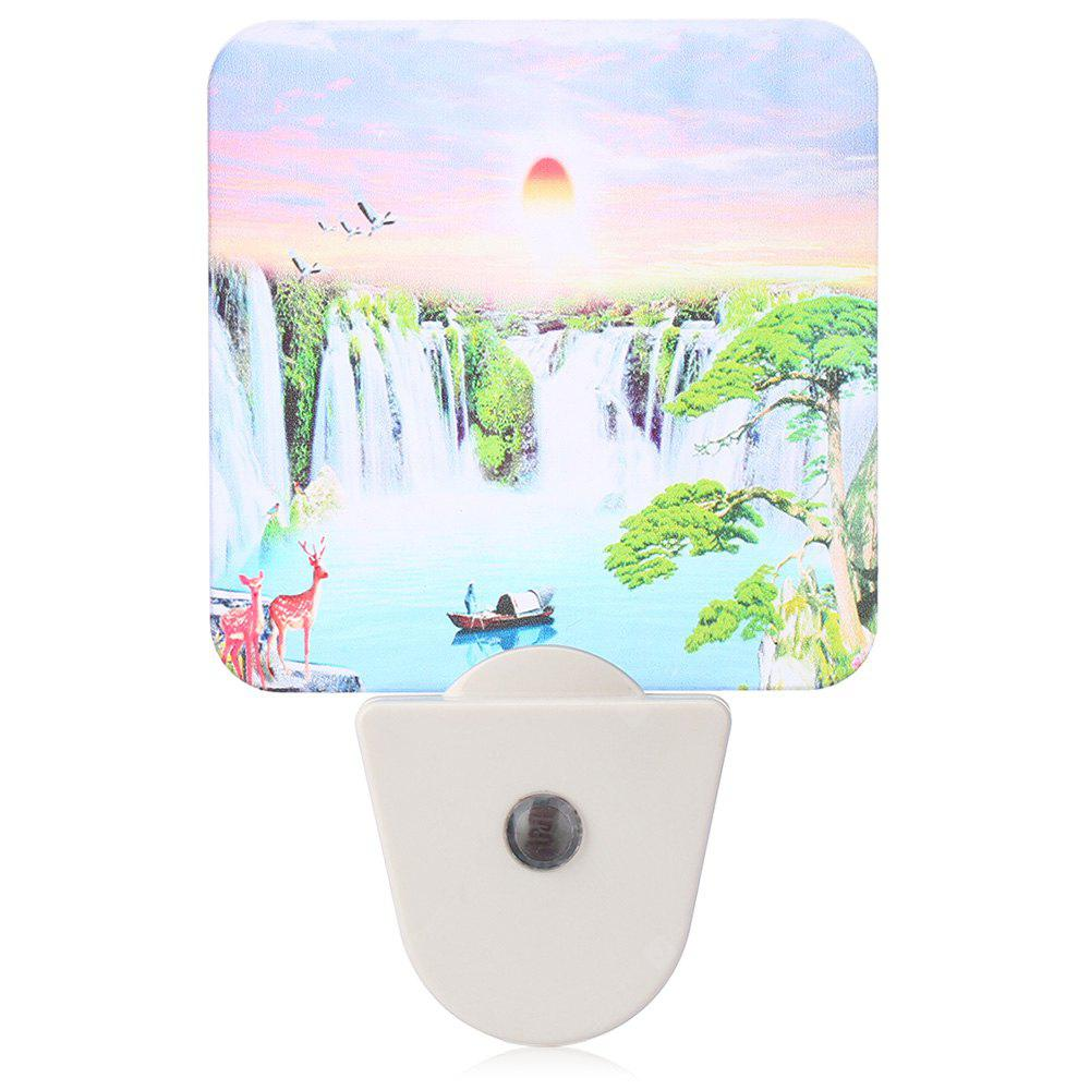 LY GY - A024 Landscape Painting Frosted LED Wall Night Light