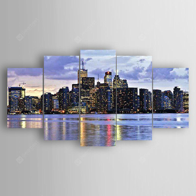 5PCS Print Evening Scene Wall Decor for Home Decoration