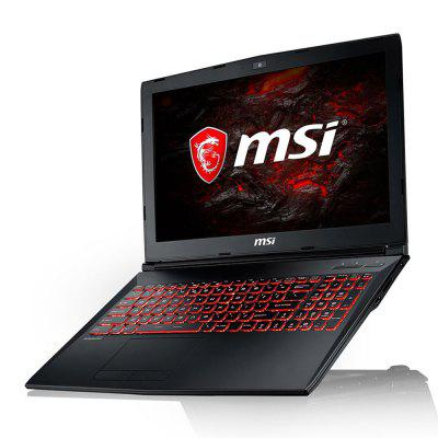 MSI GL62M 7RDX - 1642CN Gaming LaptopLaptops<br>MSI GL62M 7RDX - 1642CN Gaming Laptop<br><br>3.5mm Headphone Jack: Yes<br>AC adapter: 100-240V / 19V 6.15A<br>Battery Type: 10.8V / 3834mAh,  Li-ion polymer battery<br>Bluetooth: 4.0<br>Brand: MSI<br>Caching: 6MB<br>Camera type: Single camera<br>Charger: 1<br>Charging Time.: 3 - 4 hours<br>Core: 2.5GHz, Quad Core<br>CPU: Intel Core i5-7300HQ<br>CPU Brand: Intel<br>CPU Series: Intel Core<br>Display Ratio: 16:9<br>English Manual : 1<br>External Memory: SD card up to 128GB (not included)<br>Front camera: 720P<br>Graphics Capacity: 4G<br>Graphics Card Frequency: 1500MHz<br>Graphics Chipset: GTX1050Ti<br>Graphics Type: Graphics Card<br>Hard Disk Interface Type: M.2<br>Hard Disk Memory: 1T<br>LAN Card: Yes<br>Languages: Windows OS is built-in Chinese pack.<br>Largest RAM Capacity: 32GB<br>MIC: Supported<br>Mini DP Port: Yes<br>Mini HDMI slot: Yes<br>Model: GL62M 7RDX - 1642CN<br>MS Office format: Word, PPT, Excel<br>Notebook: 1<br>OS: Windows 10<br>Package size: 52.00 x 37.50 x 11.00 cm / 20.47 x 14.76 x 4.33 inches<br>Package weight: 5.0000 kg<br>Picture format: PNG, JPG, BMP, GIF, JPEG<br>Power Consumption: 45W<br>Process Technology: 14nm<br>Product size: 38.80 x 26.00 x 1.50 cm / 15.28 x 10.24 x 0.59 inches<br>Product weight: 2.3000 kg<br>RAM: 8GB<br>RAM Slot Quantity: Two<br>RAM Type: DDR4<br>RJ45 connector: Yes<br>Rotational Speed: 7000R/M<br>Screen resolution: 1920 x 1080 (FHD)<br>Screen size: 15.6 inch<br>Screen type: IPS<br>SD Card Slot: Yes<br>Skype: Supported<br>Speaker: Supported<br>Standby time: 4 - 5 hours<br>Threading: 4<br>Type: Gaming Laptop<br>Type-C: Yes<br>USB Host: Yes 1 ? USB2.0+2?USB3.0<br>WIFI: 802.11b/g/n wireless internet<br>WLAN Card: Yes<br>Youtube: Supported