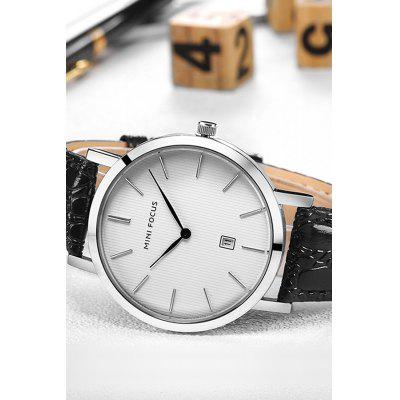Male Genuine Leather Band Water Resistance Quartz WatchMens Watches<br>Male Genuine Leather Band Water Resistance Quartz Watch<br><br>Band material: Genuine Leather<br>Band size: 24.5 x 2.1cm<br>Case material: Alloy<br>Clasp type: Pin buckle<br>Dial size: 3.8 x 3.8 x 0.75cm<br>Movement type: Quartz watch<br>Package Contents: 1 x Watch<br>Package size (L x W x H): 25.50 x 4.80 x 1.75 cm / 10.04 x 1.89 x 0.69 inches<br>Package weight: 0.0810 kg<br>Product size (L x W x H): 24.50 x 3.80 x 0.75 cm / 9.65 x 1.5 x 0.3 inches<br>Product weight: 0.0410 kg<br>Shape of the dial: Round<br>Watch style: Business<br>Watches categories: Men