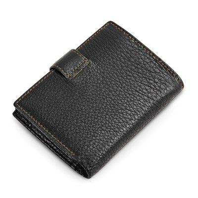 Men Vintage Look Trifold Leather WalletWallets<br>Men Vintage Look Trifold Leather Wallet<br><br>Features: Wearable<br>Material: Leather, Polyester<br>Package Size(L x W x H): 13.00 x 10.00 x 2.50 cm / 5.12 x 3.94 x 0.98 inches<br>Package weight: 0.1800 kg<br>Packing List: 1 x Wallet<br>Product weight: 0.1300 kg<br>Style: Fashion, Casual<br>Type: Wallet