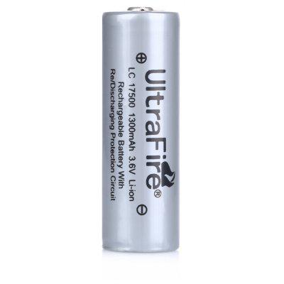 UltraFire LC 1300mAh 3.6V 17500 Li-ion Rechargeable Battery