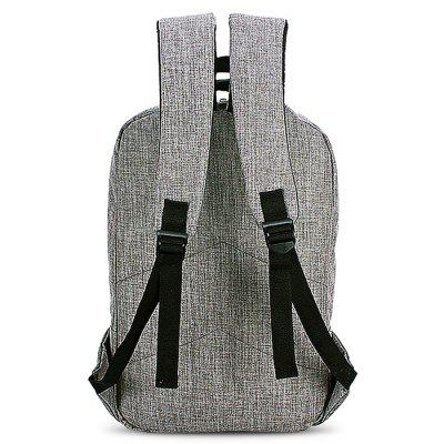 Fashion Multifunctional Laptop Computer BackpackBackpacks<br>Fashion Multifunctional Laptop Computer Backpack<br><br>Features: Wearable<br>Material: Canvas, Polyester<br>Package Size(L x W x H): 42.00 x 29.00 x 3.50 cm / 16.54 x 11.42 x 1.38 inches<br>Package weight: 0.6500 kg<br>Packing List: 1 x Backpack<br>Product weight: 0.6000 kg<br>Style: Fashion, Casual<br>Type: Backpacks
