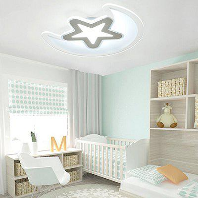Simple Star Moon Creative Ultra-thin LED Ceiling Light 220VFlush Ceiling Lights<br>Simple Star Moon Creative Ultra-thin LED Ceiling Light 220V<br><br>Beam Angle: 360 degree<br>Illumination Field: 15 - 20sqm<br>Luminous Flux: 3000LM<br>Optional Light Color: Natural White,Warm White,White<br>Package Contents: 1 x Light, 1 x Remote Control<br>Package size (L x W x H): 50.00 x 45.00 x 15.00 cm / 19.69 x 17.72 x 5.91 inches<br>Package weight: 6.5300 kg<br>Product size (L x W x H): 40.00 x 35.00 x 5.00 cm / 15.75 x 13.78 x 1.97 inches<br>Product weight: 5.0000 kg<br>Sheathing Material: Iron, Acrylic<br>Type: Ceiling Lights<br>Voltage (V): 220V<br>Wavelength / CCT: 3000K,4000K,6500K