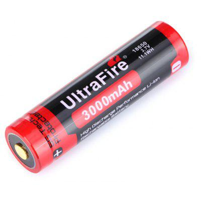 UltraFire BRC 3000mAh 3.7V 18650 Li-ion Rechargeable Battery