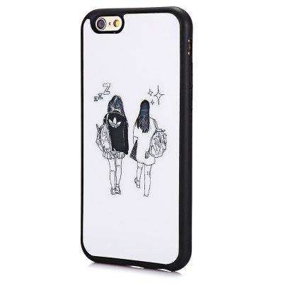 ASLING Youth Printing Soft Phone Case for iPhone 6 / 6s