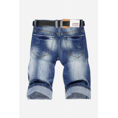 Casual Men Straight Leg Jeans ShortsMens Shorts<br>Casual Men Straight Leg Jeans Shorts<br><br>Material: Cotton, Spandex<br>Package Contents: 1 x Shorts<br>Package size: 30.00 x 35.00 x 2.00 cm / 11.81 x 13.78 x 0.79 inches<br>Package weight: 0.4900 kg<br>Product weight: 0.4500 kg