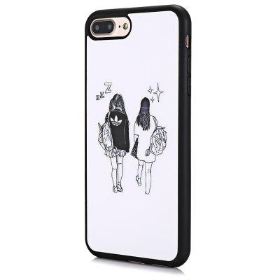 ASLING Youth Printing Soft Phone Case for iPhone 7 Plus