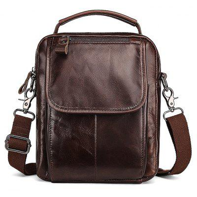 Leisure Business Leather Shoulder Bag