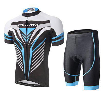 XINTOWN Men's Short Sleeve Kong Kim Cycling Suit