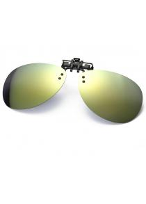 Shape Flip-up Resin Polarized Lens Clip on Glasses