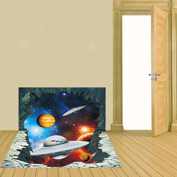 DSU 3027 Spacecraft Pattern PVC Removable Wall Sticker