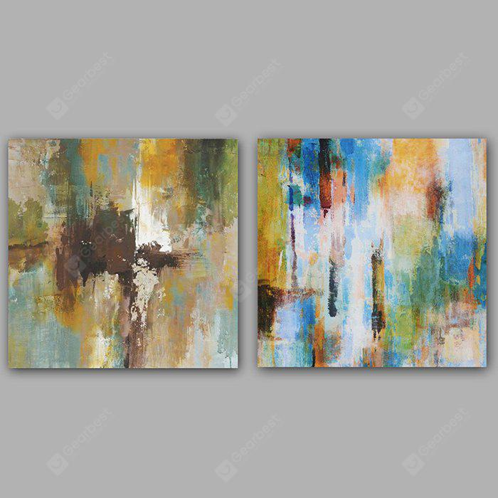 Happy Art Hand Painted Oil Painting Modern Abstract Canvas Decoration
