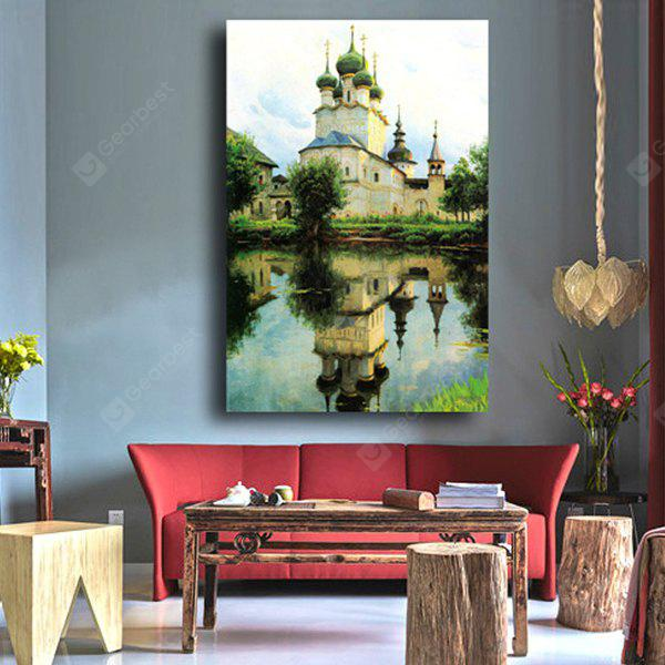 City Scenery Printing Canvas Wall Decoration
