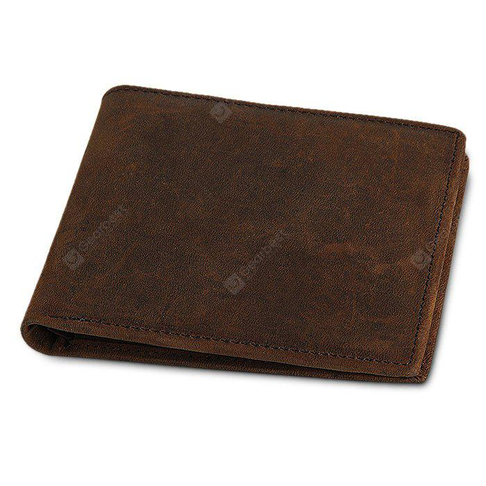 Minimalist Bifold Leather Wallet for Men