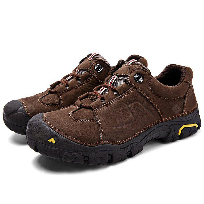 Men Comfortable Outdoor Lace-up Hiking Shoes