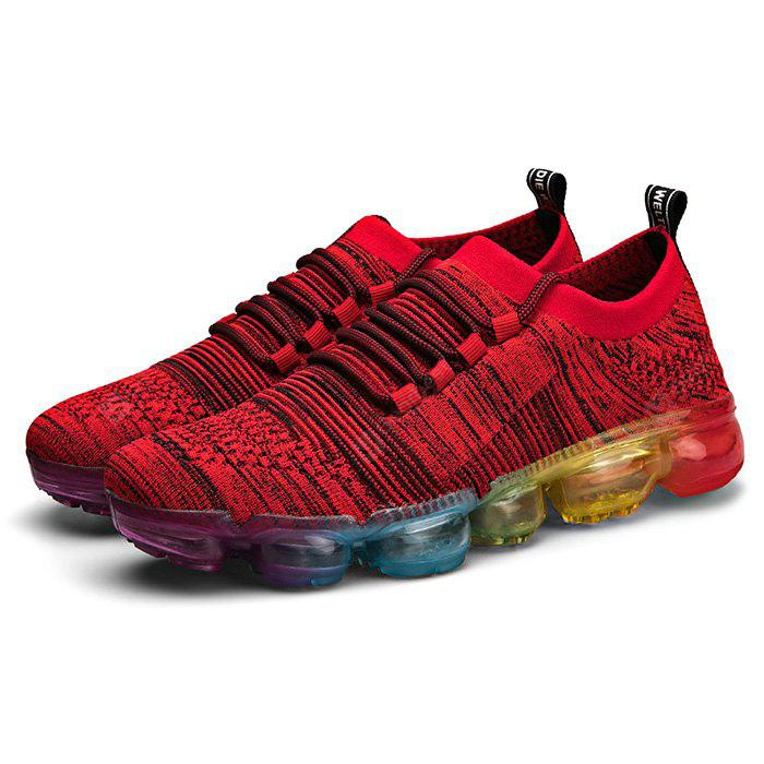 Air-cushioned Fabric Running Sneakers for Men