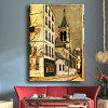 1pc City Landscape Printing Canvas Wall Decoration - MULTICOLOR