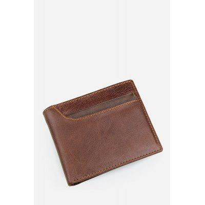 Men RFID Blocking Bifold Leather Wallet