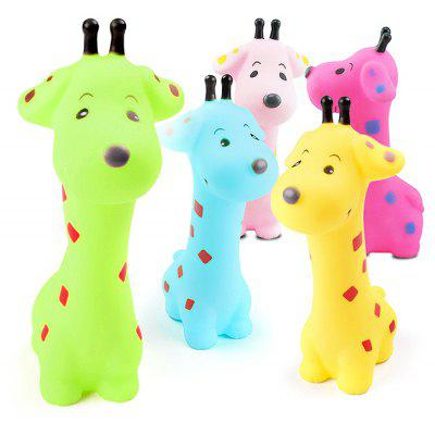 Cartoon Animal Squirt Stretchy Bath Toy of Giraffe