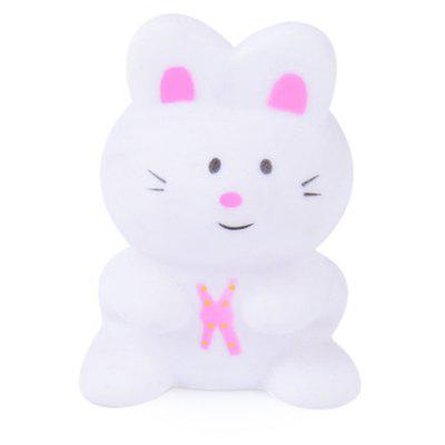Cartoon Animal Squirt Stretchy Bath Toy of Rabbit