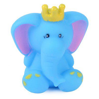 Cartoon Animal Squirt Stretchy Bath Toy of Elephant