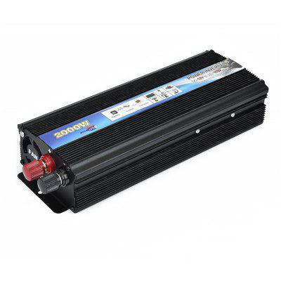 XUYUAN DC 12V to AC 110V US 2000W Car Power Inverter Electronic Device with USB Port