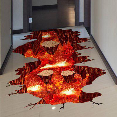 Creative 3D Volcanic Magma Home Decor Wall StickerWall Stickers<br>Creative 3D Volcanic Magma Home Decor Wall Sticker<br><br>Functions: Decorative Wall Stickers<br>Hang In/Stick On: Bathroom,Bedrooms,Hotels,Living Rooms,Offices<br>Material: Vinyl(PVC)<br>Package Contents: 1 x Wall Sticker<br>Package size (L x W x H): 82.00 x 6.00 x 5.00 cm / 32.28 x 2.36 x 1.97 inches<br>Package weight: 0.2700 kg<br>Product size (L x W x H): 80.00 x 88.00 x 0.10 cm / 31.5 x 34.65 x 0.04 inches<br>Product weight: 0.2000 kg