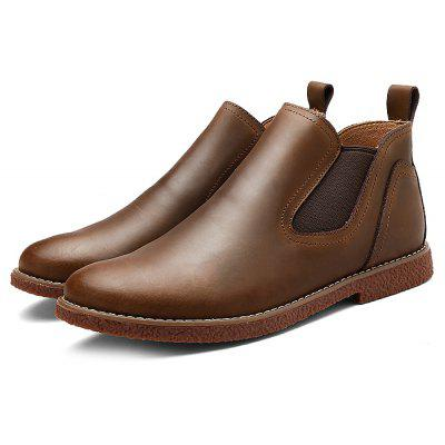 Men Medium Top Fashion Ankle Boots