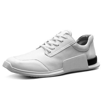 Elastic Fabric Casual Sneakers for MenAthletic Shoes<br>Elastic Fabric Casual Sneakers for Men<br><br>Closure Type: Lace-Up<br>Contents: 1 x Pair of Shoes<br>Function: Slip Resistant<br>Materials: Rubber, Fabric<br>Occasion: Running, Sports<br>Outsole Material: Rubber<br>Package Size ( L x W x H ): 33.00 x 22.00 x 11.00 cm / 12.99 x 8.66 x 4.33 inches<br>Package Weights: 0.77kg<br>Seasons: Autumn,Spring,Summer<br>Style: Comfortable, Casual<br>Type: Sports Shoes<br>Upper Material: Cotton Fabric