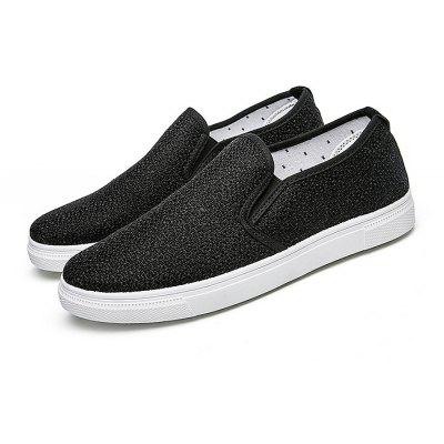 Breathable Linen Slip-on Lazy Shoes for Men