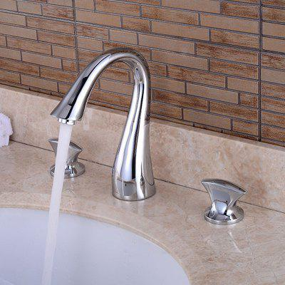 A84 Two Handle Bathroom Sink Faucet