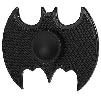 Striped Bat Shape Alloy ADHD Fidget Spinner