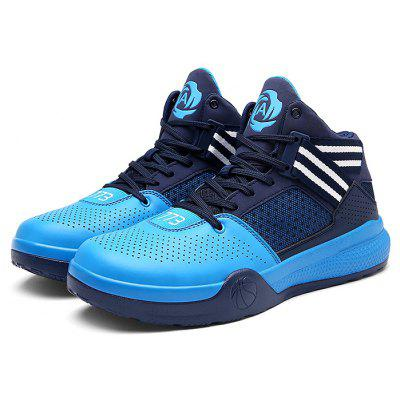 Men Breathable High Top Sports Shoes