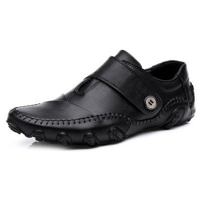 Genuine Leather Slip-on Leisure Shoes for Men