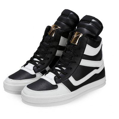 High Top Fashion Casual Skateboarding Chaussures pour hommes