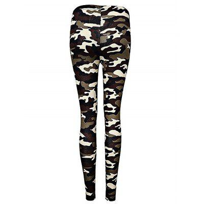 Camouflage Pattern Women LeggingsPants<br>Camouflage Pattern Women Leggings<br><br>Material: Cotton, Polyester<br>Package Contents: 1 x Leggings, 1 x Leggings<br>Package size: 30.00 x 35.00 x 2.00 cm / 11.81 x 13.78 x 0.79 inches, 30.00 x 35.00 x 2.00 cm / 11.81 x 13.78 x 0.79 inches<br>Package weight: 0.2400 kg, 0.2400 kg<br>Pants Type: Skinny<br>Product weight: 0.2000 kg<br>Style: Fashion<br>Waist: Natural